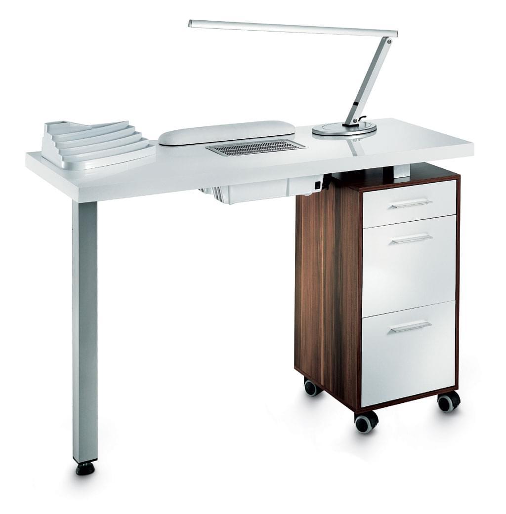 Маникюрный стол с вытяжкой своими руками фото